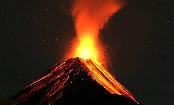 Afër 10 persona të lënduar pas shpërthimit të vullkanit Etna