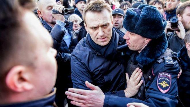 BE kërkon lirimin e opozitarit rus