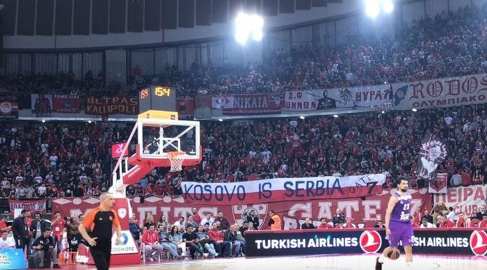 Tifozët grekë ofendojnë Kosovën në sfidën ndaj Real Madridit [video]