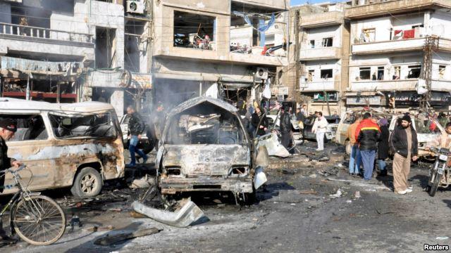 Së paku 30 vetë janë vrarë sot nga dy sulme me bombë në Siri