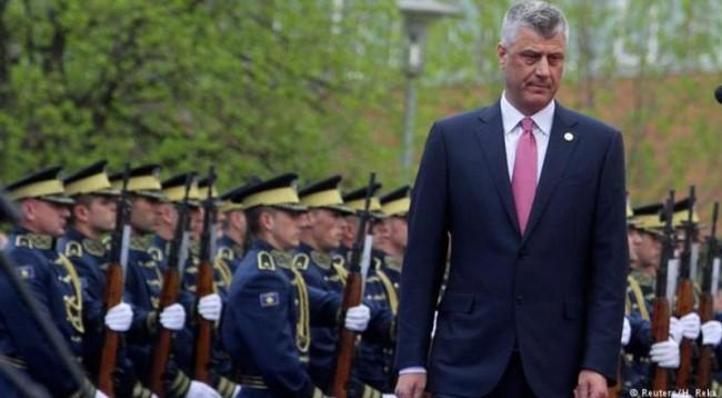 Thaçi: Jap dorëheqje nëse nuk bëhet ushtria