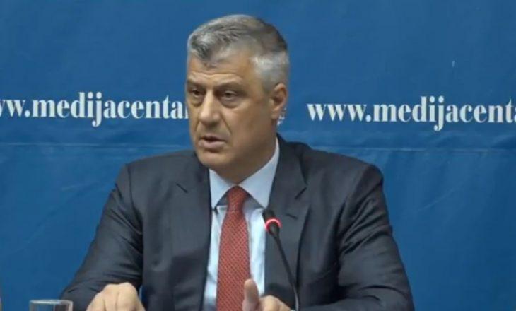 Thaçi: Ushtria do të jetë multietnike, do të bëhet në koordinim me ndërkombëtarët