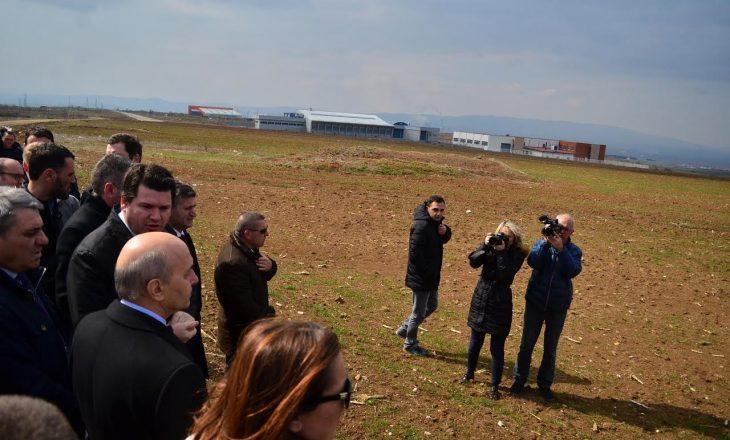 Mustafa vizitoi vendin ku do të ndërtohet Stadiumi Kombëtar