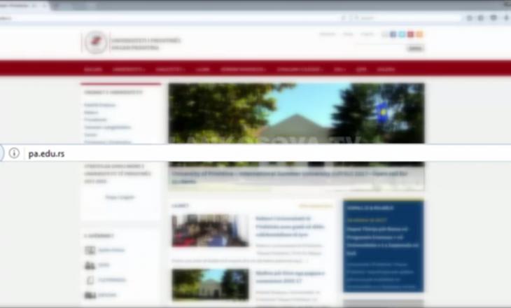 Serbët hapin uebfaqe me informacione zyrtare të UP-së