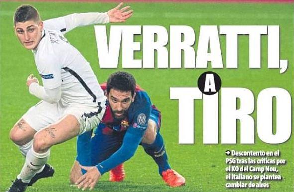 Barcelona shënjestron mesfushorin e PSG-së