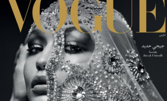 """""""Vouge Arabia"""" godet Donald Trumpin përmes modeles Gigi Hadid"""