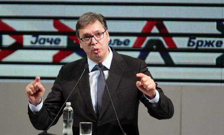 Vuçiq reagon ndaj propozimit të Thaçit për transformimin e FSK-së
