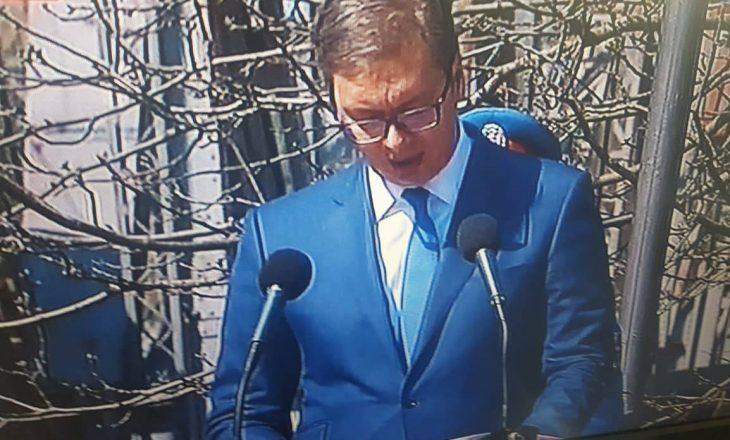 Vuçiq: Serbia kurrë nuk do të jetë pjesë e NATO-s që deshi të na vrasë fëmijët