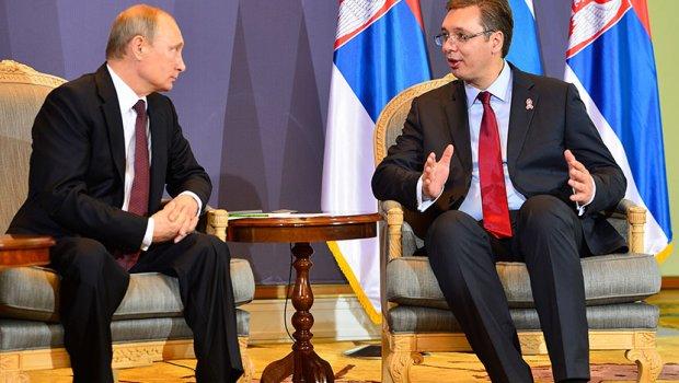 Vuçiq takohet me Putinin për bashkëpunimin ushtarak