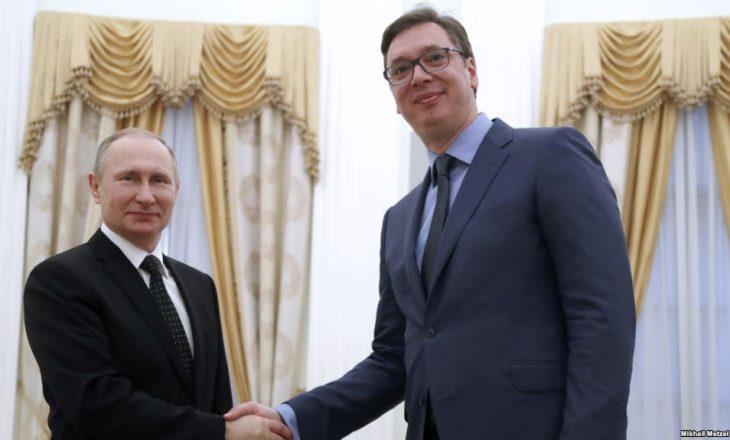 Putin i thotë Vuçiqit: Ka shenja që situata në rajon është ashpërsuar