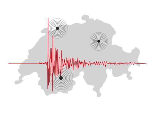 Tërmet në Zvicër
