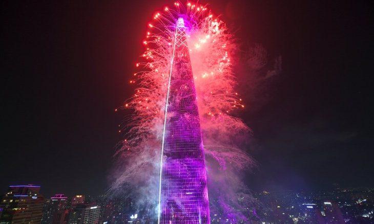 """""""Lotte World"""", kulla 555 metra e lartë e Koresë së Jugut"""