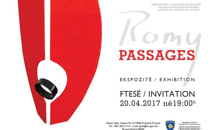Ekspozita 'Passages' e artistit Romy sonte në Prishtinë