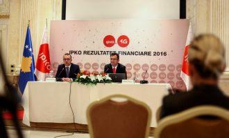 IPKO me 70 milionë euro të hyra gjatë vitit 2016