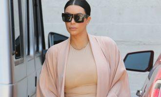 Kim Kardashian po humb fansat
