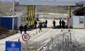 Kapen serbët të cilët kishin hyrë ilegalisht në Kosovë