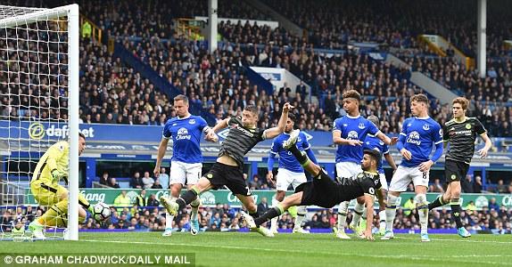 Chelsea  zgjohet  në pjesën e dytë dhe mposht Everton