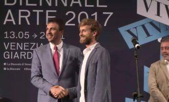 Petrit Halilaj fiton mirënjohje speciale në Bienalen e Venecias
