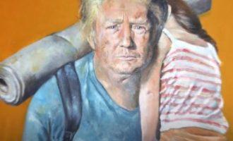 Artisti sirian sjell imazhet e liderëve botërorë se si do të dukeshin të varfër