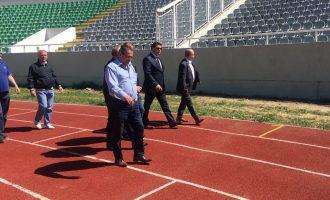 """Rinovimi i stadiumit """"Adem Jashari"""" përfundon në fund të qershorit"""