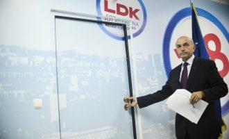 Anëtari i LDK-së propozon largim nga partia për ata që votojnë Haradinajn për kryeministër