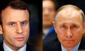 Macron pret sot Putinin