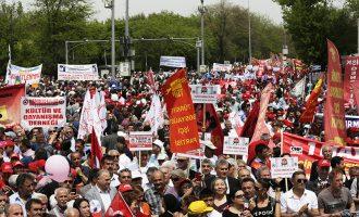 Turqia përdorë plumba gome për të shpërndarë protestuesit për 1 Maj