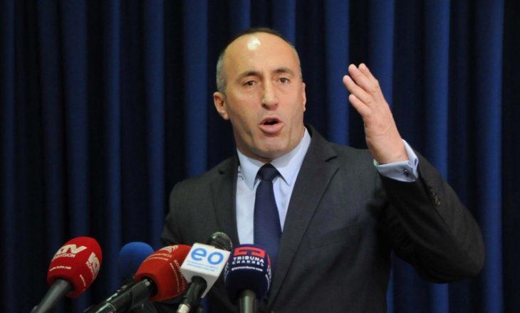 """Haradinajt nuk i bën përshtypje """"plani"""" i Kurtit për seancën e 24 gushtit"""