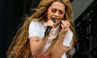 Rita Ora shkëlqen në 'Big Weekend'