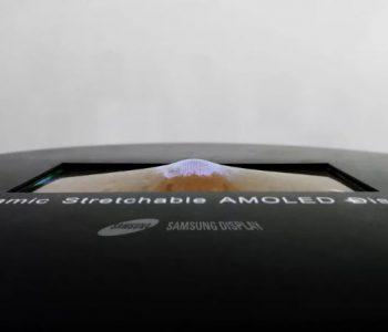 Samsung prezanton ekranin elastik