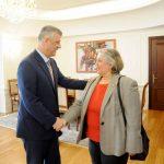 Thaçi i premton zgjedhje të qeta shefes së EULEX-it