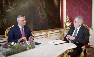 Thaçi akuzon BE-në se po e përkrah vetëm Serbinë