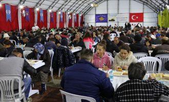 Hapet tenda e Iftarit në Prishtinë