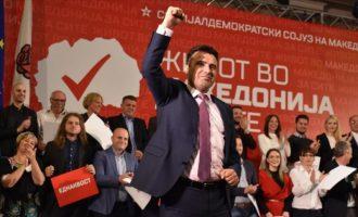 Zoran Zaev rizgjidhet kryetar i LSDM-së