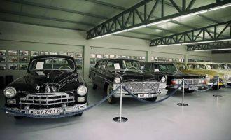 Muzeu që ruan kujtimin e makinave sovjetike