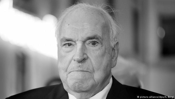Një burrë i madh shteti – për vdekjen e Helmut Kohlit