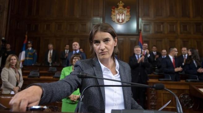 Kryeministrja e Serbisë ka një apel për ndeshjen Partizani – Skënderbeu