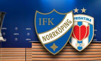 Gjyqtarët nga Letonia gjykojnë ndeshjen mes Prishtinës dhe Norrkoping