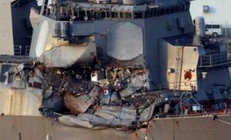 Gjenden të vdekur shtatë detarët e zhdukur të marinës amerikane