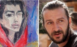 Dua Lipa pikturuar nga Rron Qena