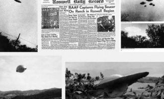 """UFO-t, 70 vjet më parë u shfaqën """"disqet fluturuese"""""""