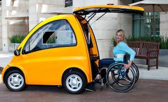 Vetura e krijuar për njerëzit që janë në karrocë