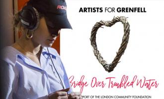Kënga e realizuar për të prekurit nga zjarri në Londër