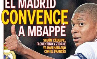 Reali bind Mbappen për t'u transferuar në Madrid
