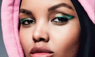 Modelja e parë me mbulesë në kopertinën e revistës amerikane të modës