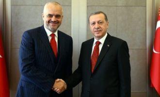 Mesazhi politik dhe fetar i Erdoganit për Edi Ramën