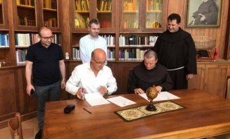"""Nënshkruhet marrëveshje mes Bibliotekës Kombëtare të Kosovës dhe Bibliotekës Françeskane """"At Gjergj Fishta"""""""