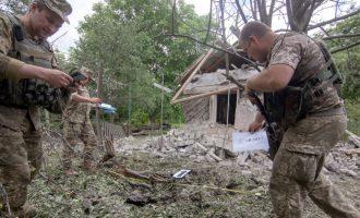 Vriten tetë ushtarë ukrainas