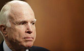 Do të kthehem shpejt, thotë Senatori McCain i diagnostikuar me kancer