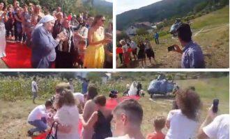 Trendi i dasmave me helikopter rikthehet në Karaçevë